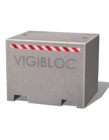 Vigibloc 1000 gris lisse