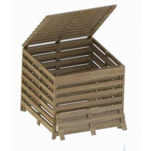 Composteur bois 800 L