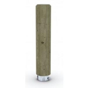 Borne bois ronde hs 1000 amovible