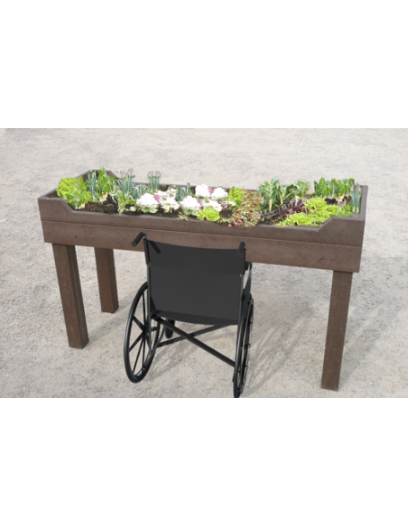 Table plantation plastique recyclé PMR