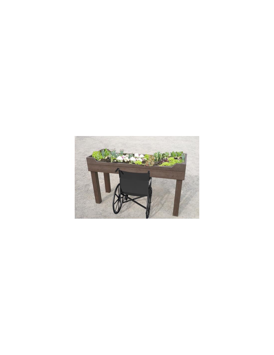 Table plantation plastique recyclé PMR