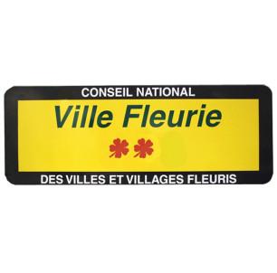 Panneau Ville Fleurie 1000...