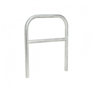 Arceau diametre 60 simple longueur 1000 mm galvanise fabrication francaise spl procity protection trottoir pietons