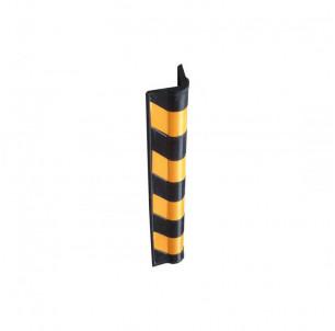 angle protection mur batiment industriel caoutchouc jaune et noir spl procity fabrication francaise