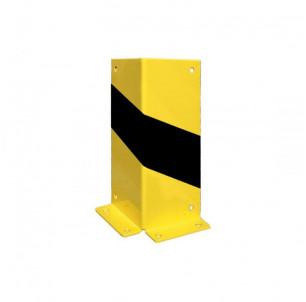 angle tole protection mur batiment industriel acier jaune et noir spl procity fabrication francaise