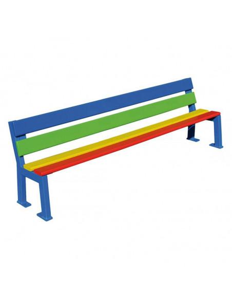 Banc SILAOS Maternelle 1500 Multicolore