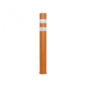 potelet baliza memoire de forme diametre 80 hauteur 1200 mm - bande reflechissante - x last sabacaucho