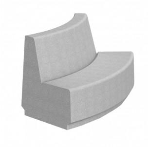 banc dayton convexe beton autostable prefac my way fabrication francaise