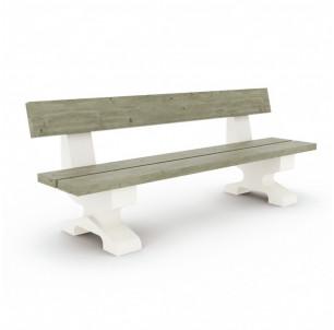 banc venan bois pin et beton mobextan tanguy fabrication francaise