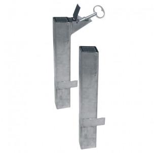 kit fourreau amovible barriere lisbonne fabrication francaise procity amovibilite pompier acces