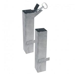 kit fourreau amovible barriere losange fabrication francaise procity amovibilite pompier acces