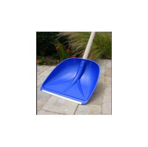 Pelle PE bleu 420 mm