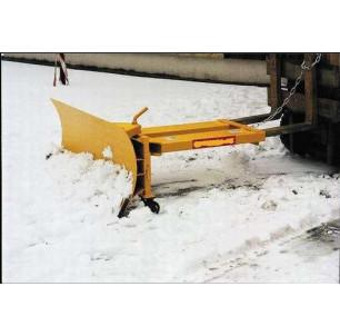 Lame chariot 1500 mm avec roues
