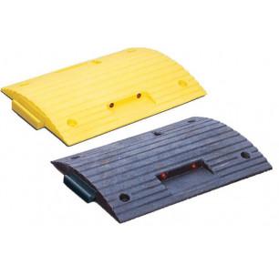 Ralentisseur jaune et noir paire 50 mm