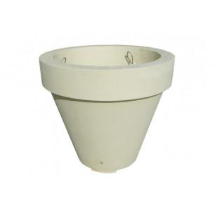 Jardinière Vase ocre sablé