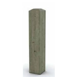 Borne bois carrée hs 1000