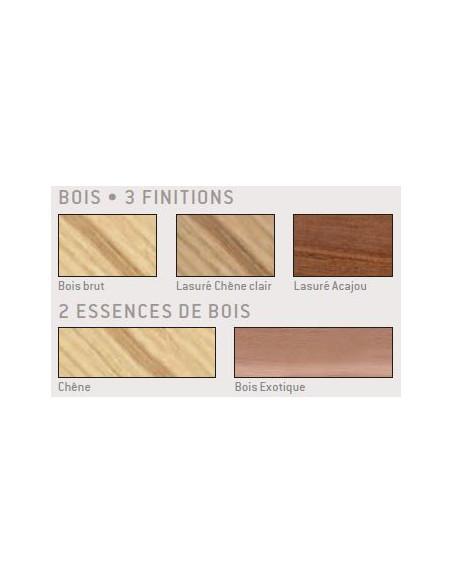 Barrière Primium 450 bois/acier 1000