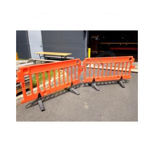 Barrière chantier PEHD 2 m
