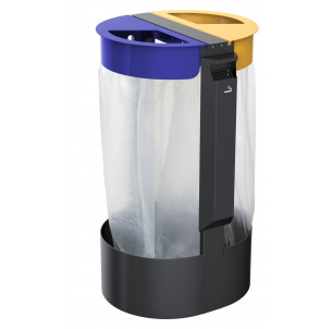 Citwin 2 flux à poser ou à fixer + cendrier
