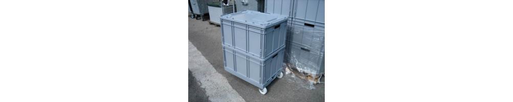Caisse et coffre multi-matériaux