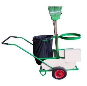 Chariot de propreté et accessoires