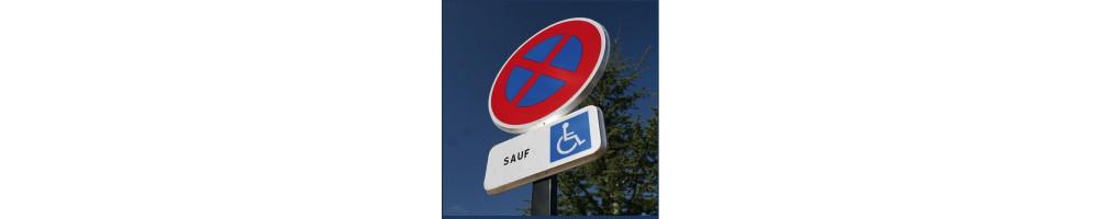 """Panneau """"Stationnement et zone 30"""""""