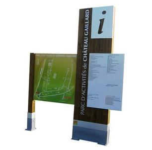 Affichage directionnel et informatif