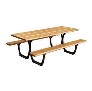 Table acier-bois
